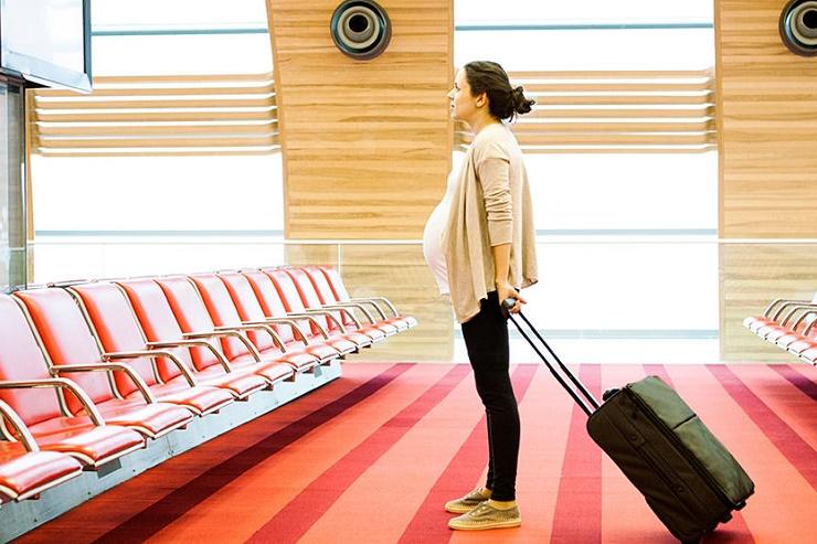 Mode de transport pour femme enceinte