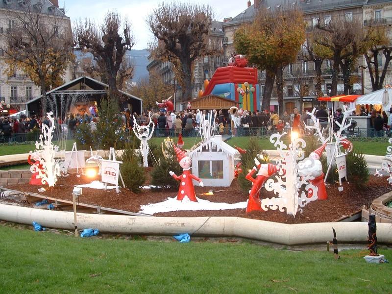 Passer Noël à Grenoble